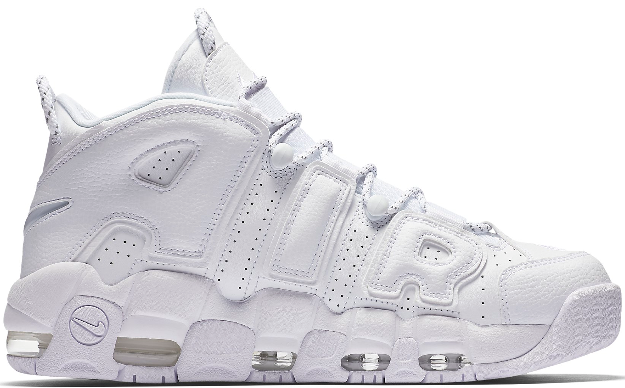 super popular 40a57 e5e71 Nike Air More Uptempo Triple White 2017