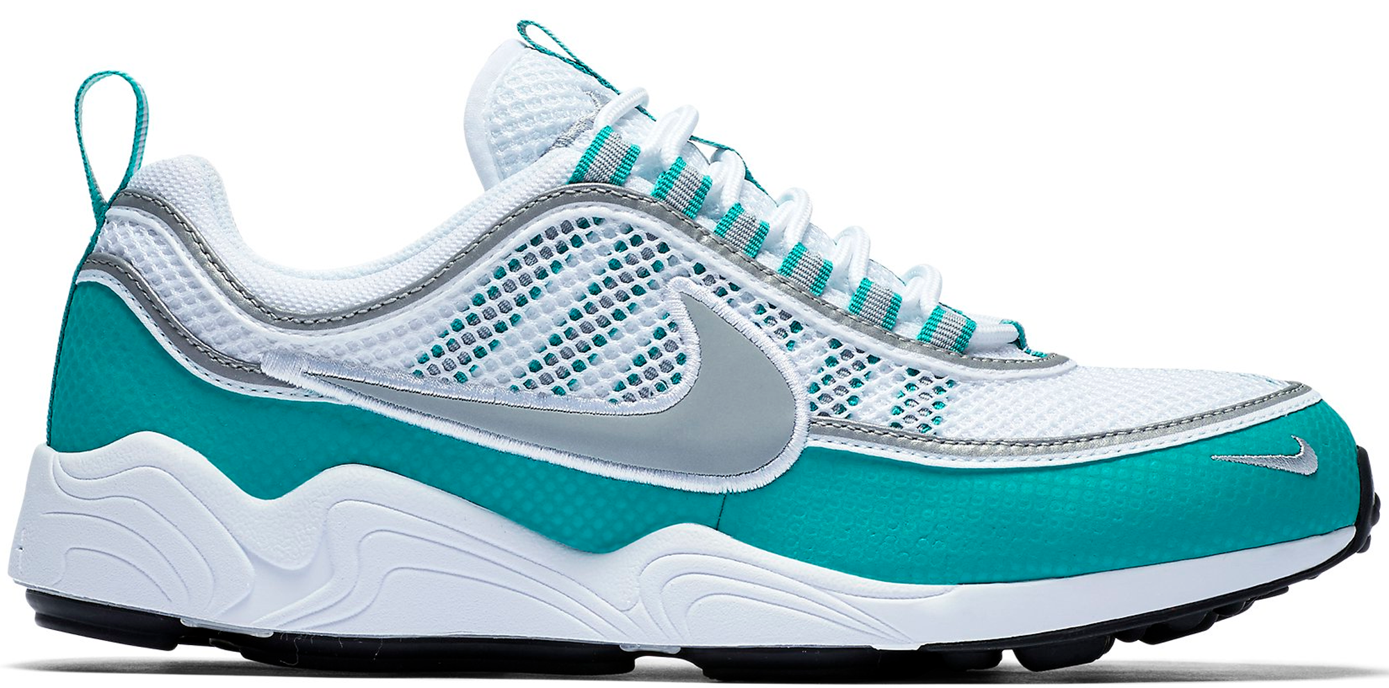 46764dade7de Nike Air Zoom Spiridon White Turbo Green - StockX News
