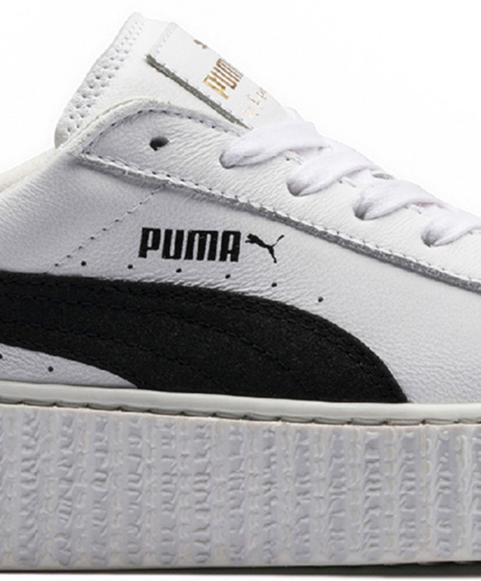 Rihanna x Puma Creeper Fenty Leather White Black