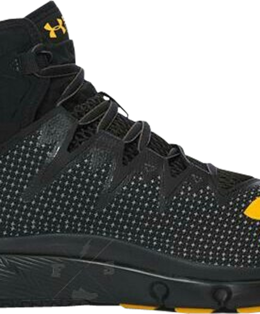 Under Armour The Rock Delta Black Yellow Dwayne Johnson ProjectRock