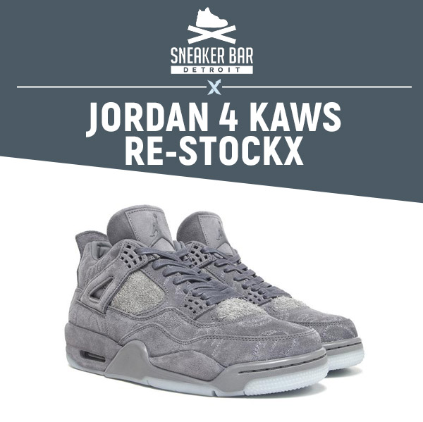 c86b4d25115e39 Winners Update!   Sneaker Bar Detroit x StockX Jordan 4 Kaws Re ...