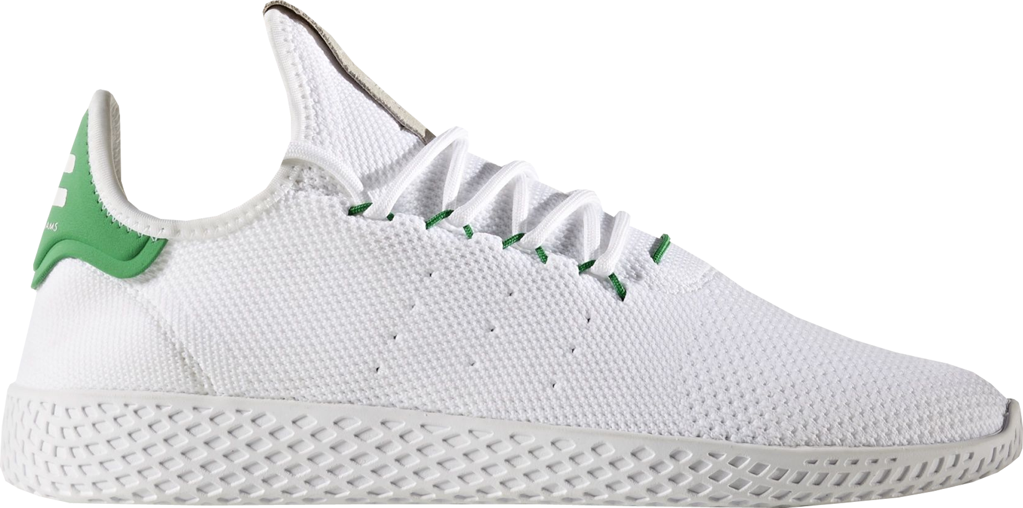 e2bdf1781cad6 Pharrell Williams x adidas Tennis Hu White Green - StockX News