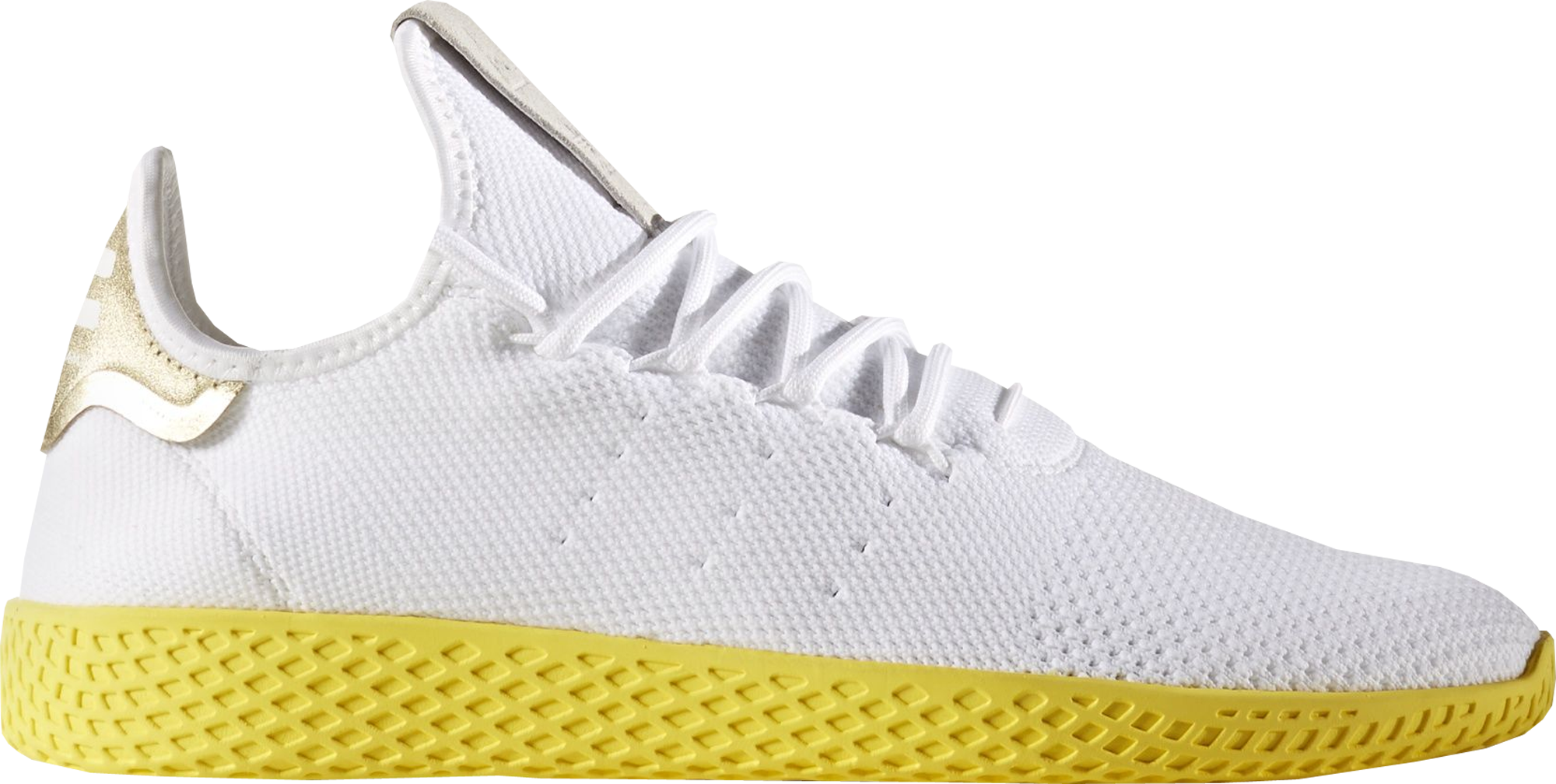 52089999828fd Pharrell Williams x adidas Tennis Hu White Yellow - StockX News