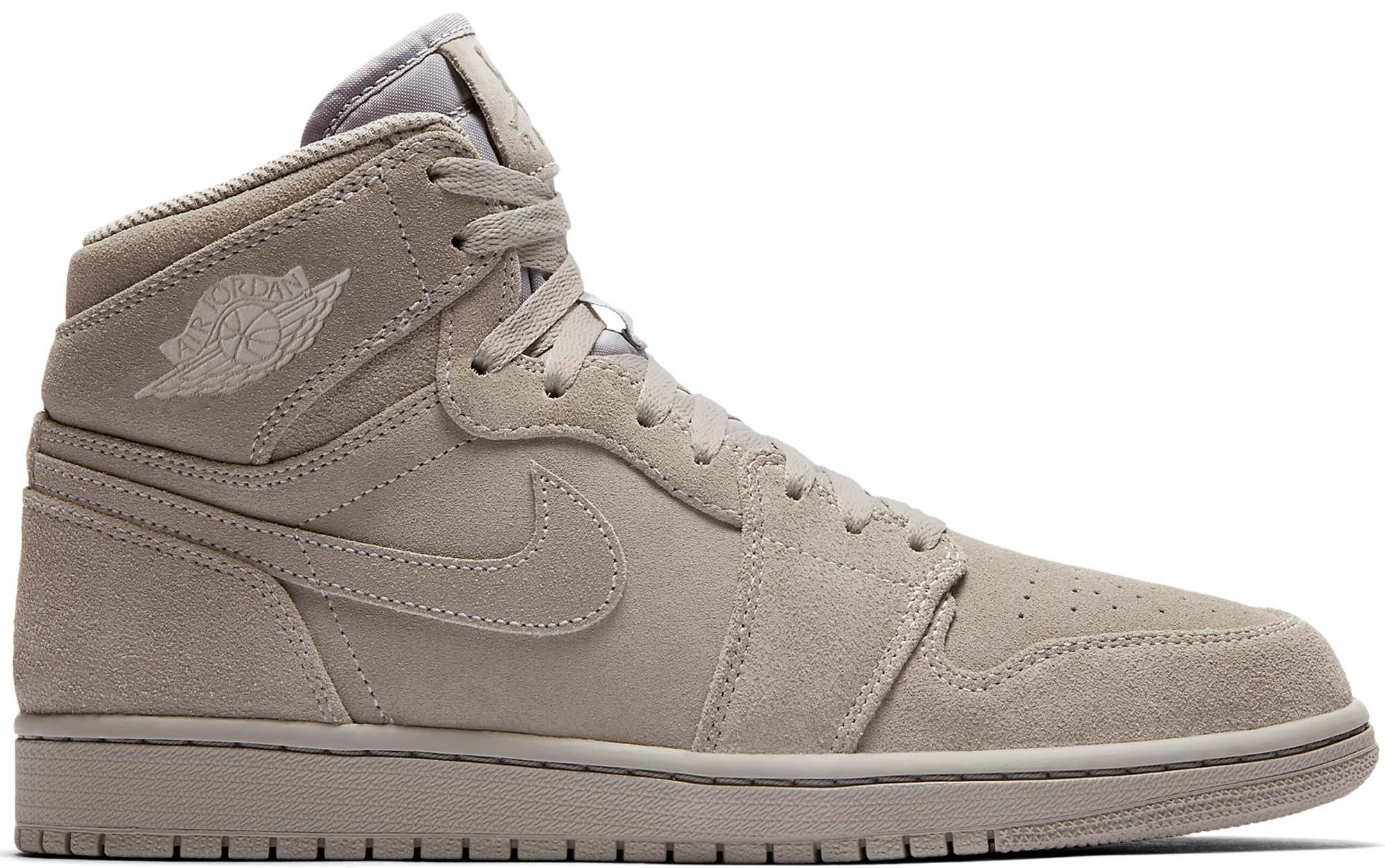 new style d5d86 351df Air Jordan 1 Retro High Wolf Grey Suede