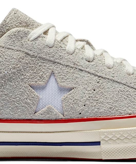 Undefeated x Converse One Star Ox White Suede