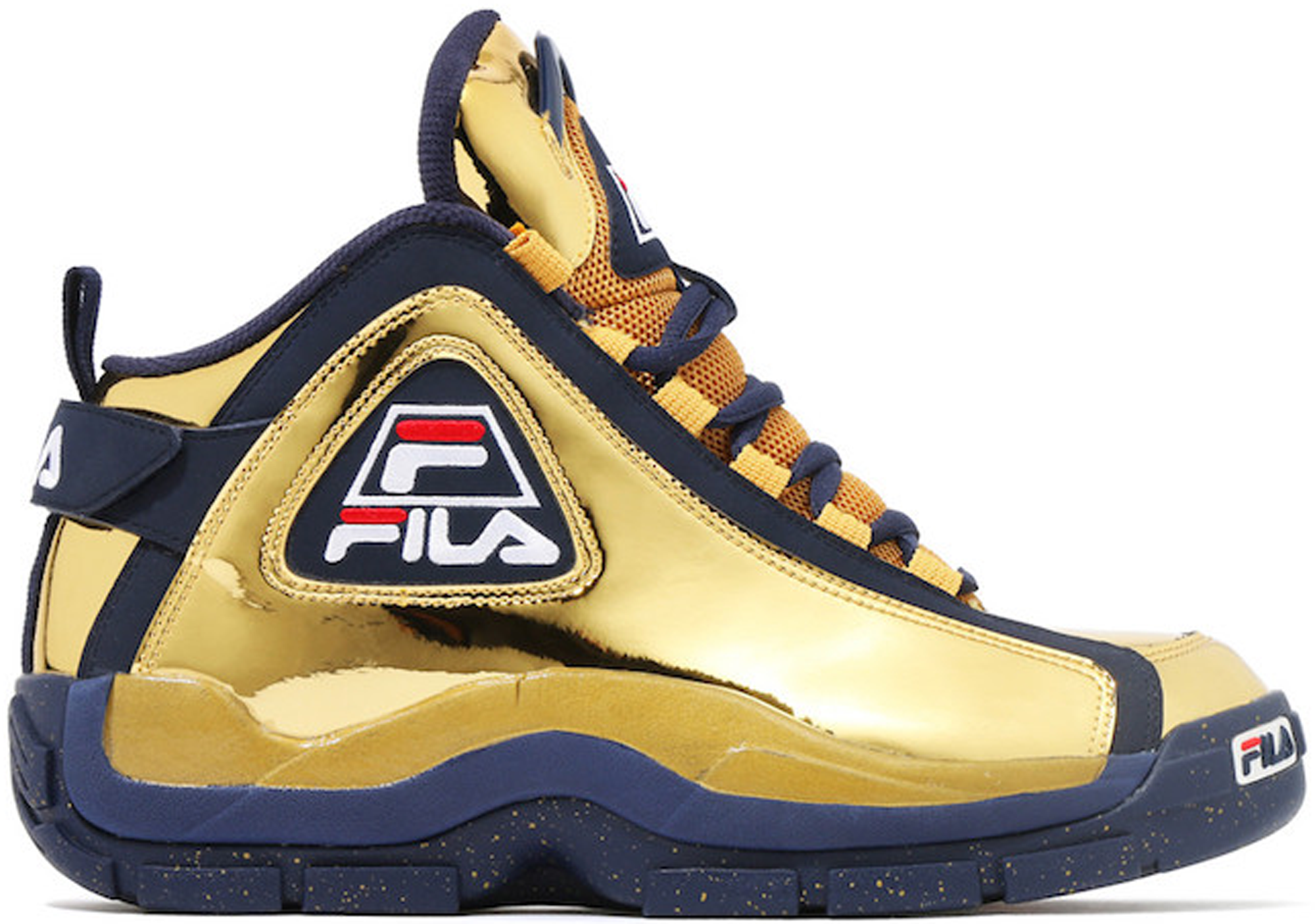 Kinetics x Fila 96 Metallic Gold 2016 Grant Hill 2 Retro