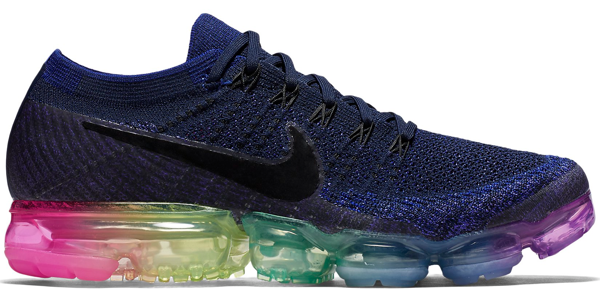 ee75fa2ab4473 Nike Air VaporMax Be True 2017 LGBTQ · Nike Air VaporMax. Colorway  Deep  Royal Blue Concord-White-Pink Blast Style  883275-400