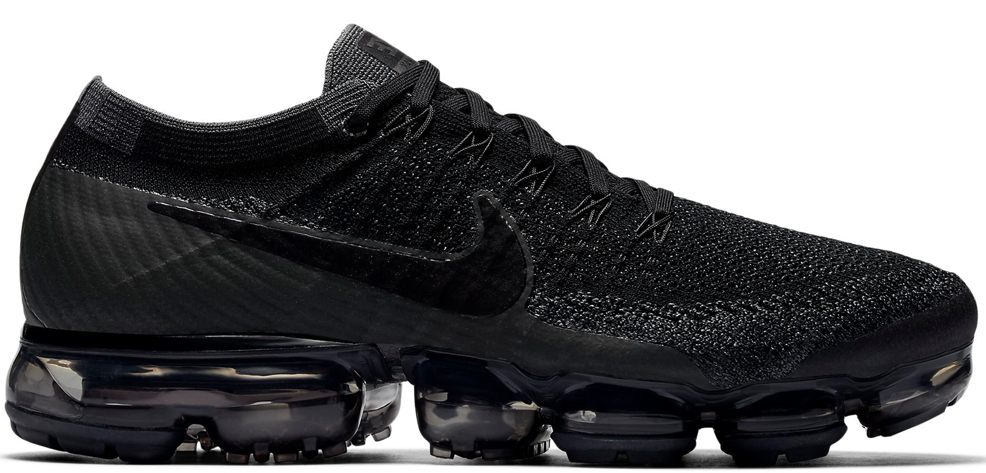 3cd188b52595 Nike Air VaporMax Black Dark Grey Triple Black 2.0