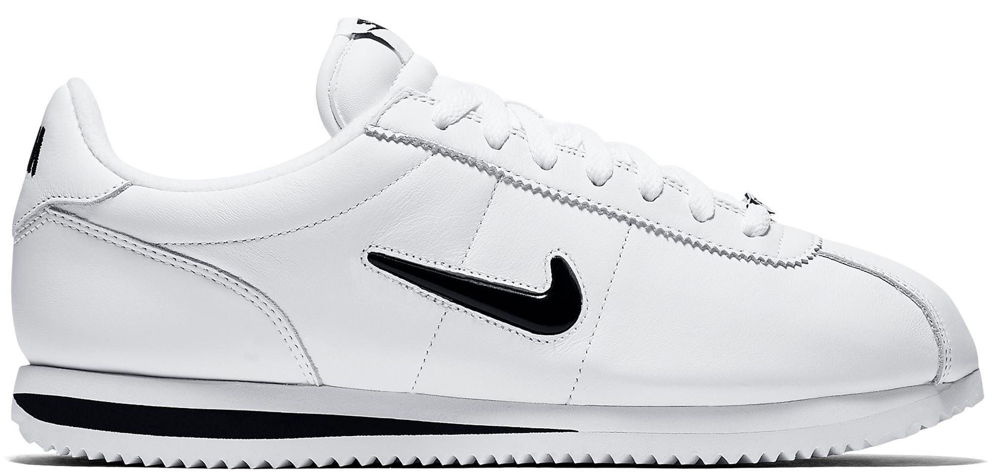 Nike Cortez Basic Jewel QS White Black Diamond QS 2017 Retro f42b241d9c2e
