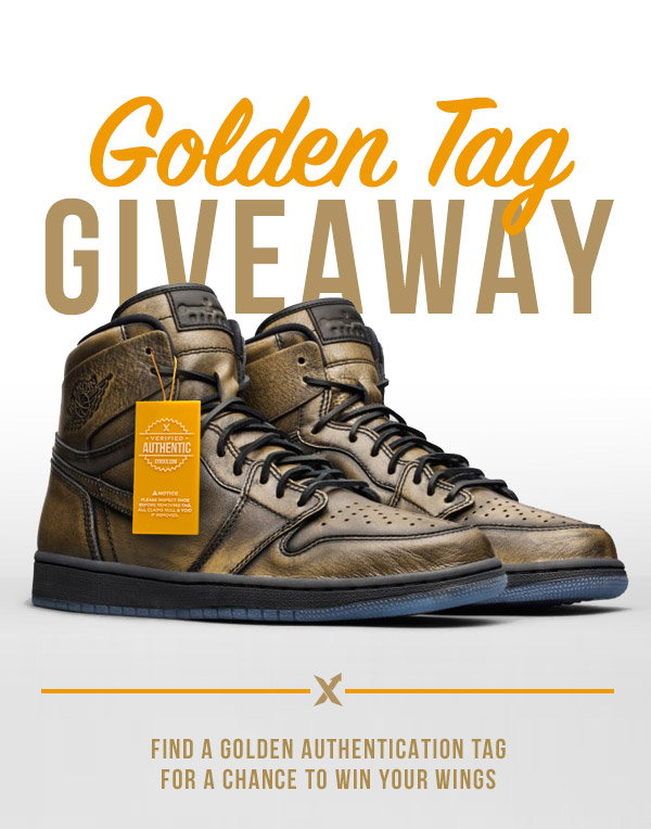 Find a Golden Authentication Tag Win Free Sneakers - StockX News