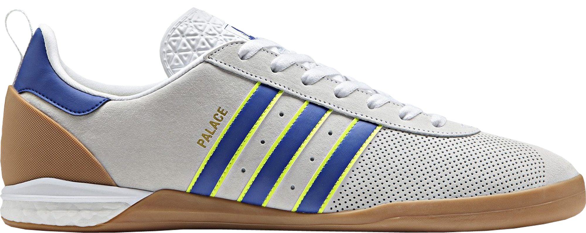 4ba67b33355c Palace x adidas Gazelle Indoor White - StockX News