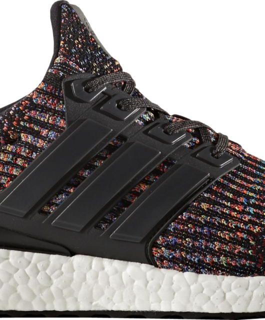 adidas Ultra Boost 3.0 Black Multi-Color