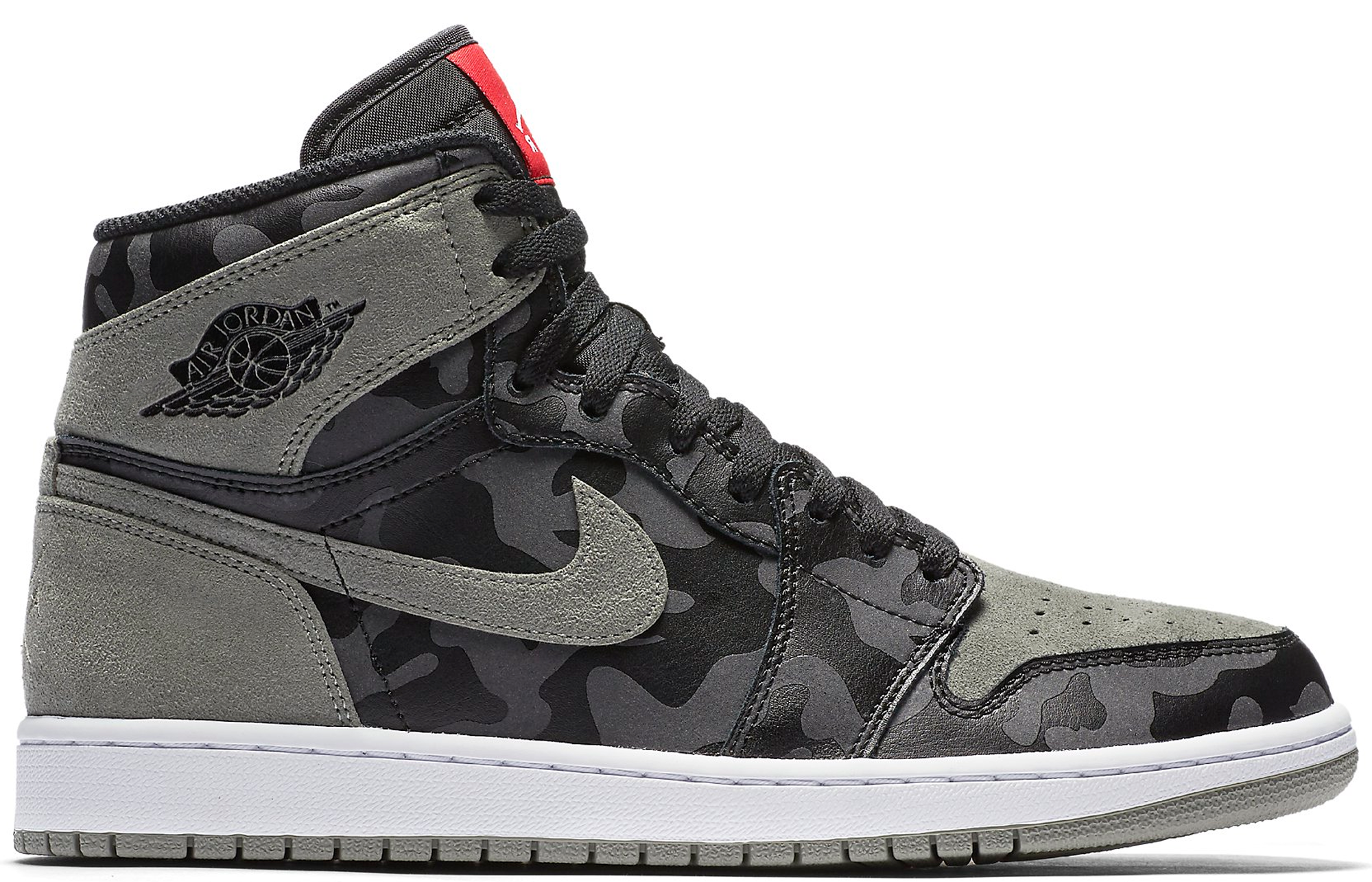 17949f4d2ccb Air Jordan 1 Retro High Premium Camo 3M Black Dark Stucco Shadow