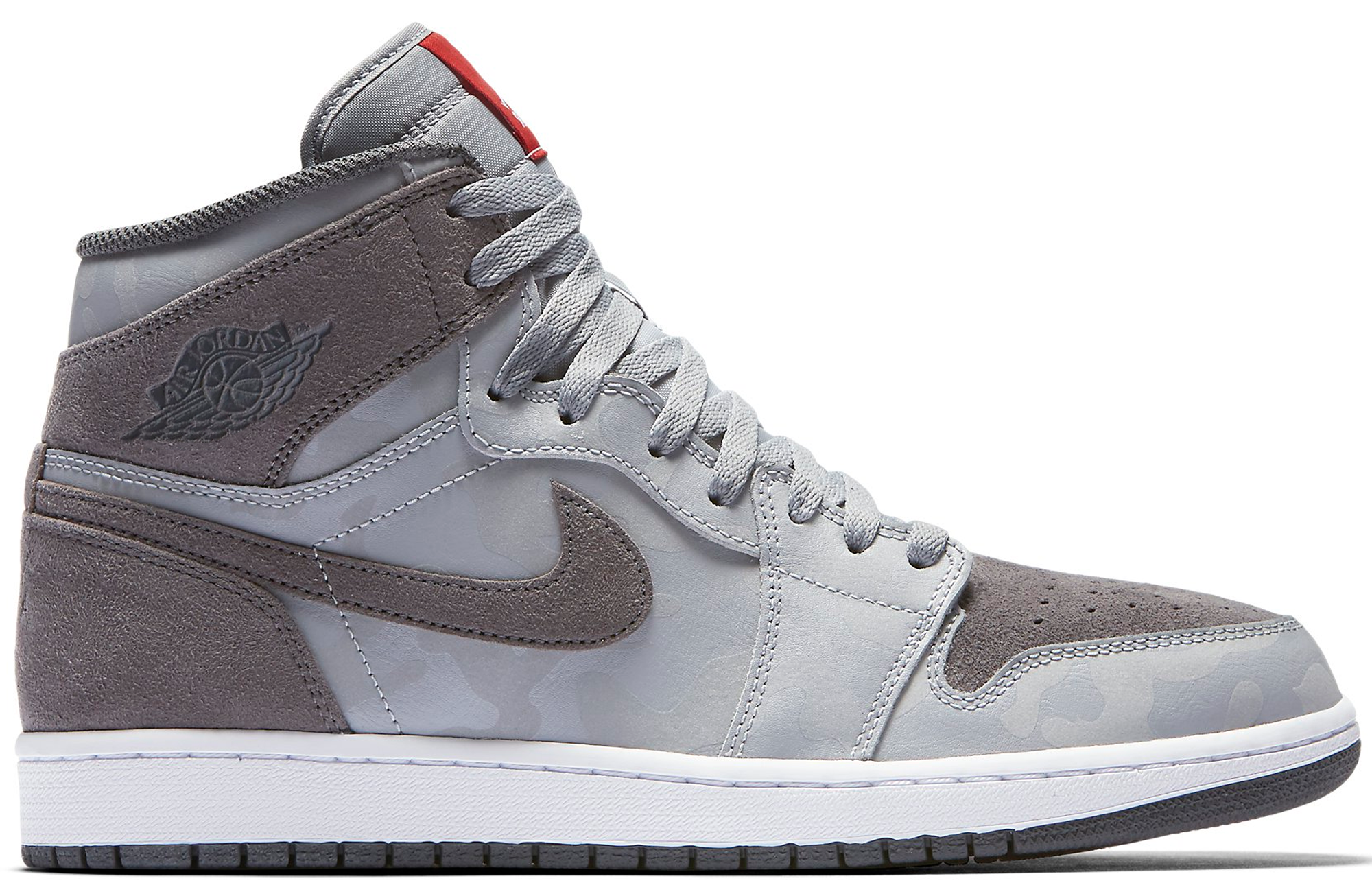 64ea73d7d8eb Air Jordan 1 Retro High Premium Camo 3M Wolf Grey - StockX News