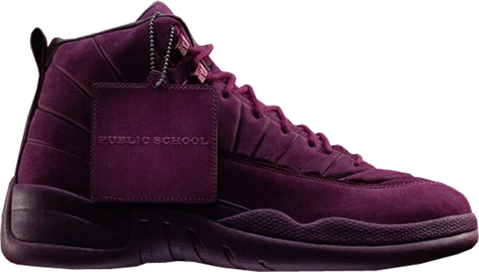 Public School x Air Jordan 12 Retro PSNY Bordeaux