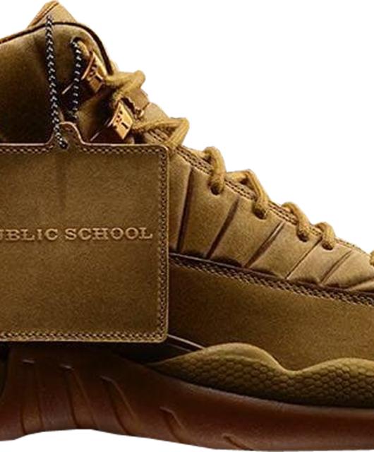 Public School x Air Jordan 12 Retro PSNY Wheat