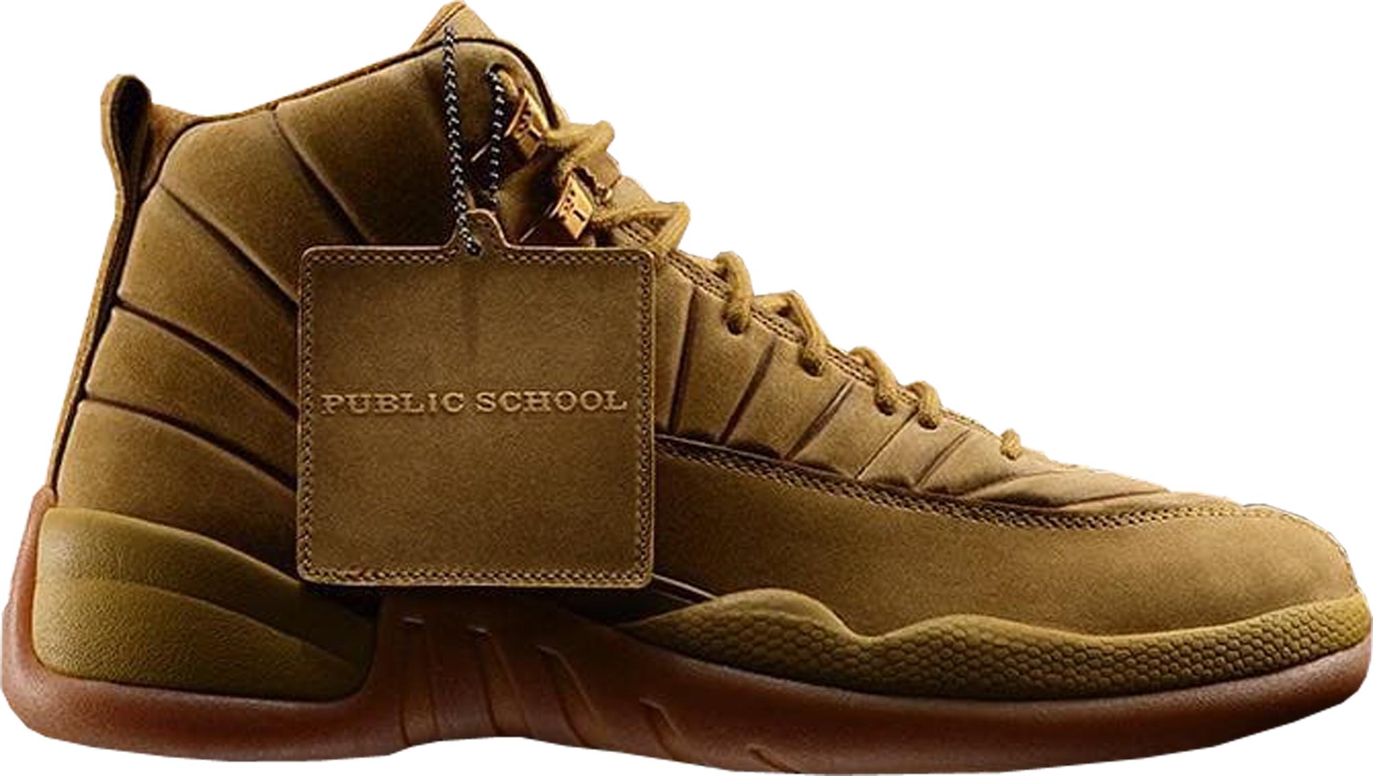 36bdfa81e6efcd Public School x Air Jordan 12 Retro PSNY Wheat - StockX News
