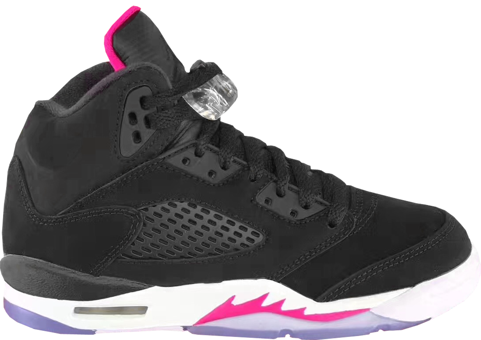 the latest 2b882 c2474 ... switzerland girls air jordan 5 retro gg black deadly pink gs ccdfd f6674