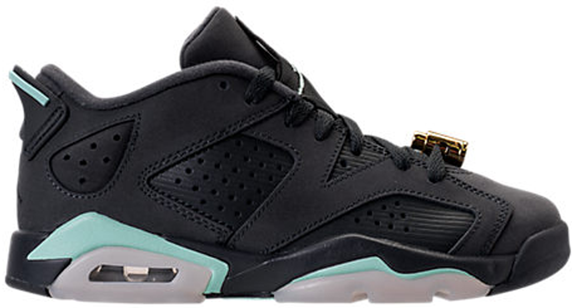 Girls Air Jordan 6 Retro Low GG Anthracite Mint Foam GS