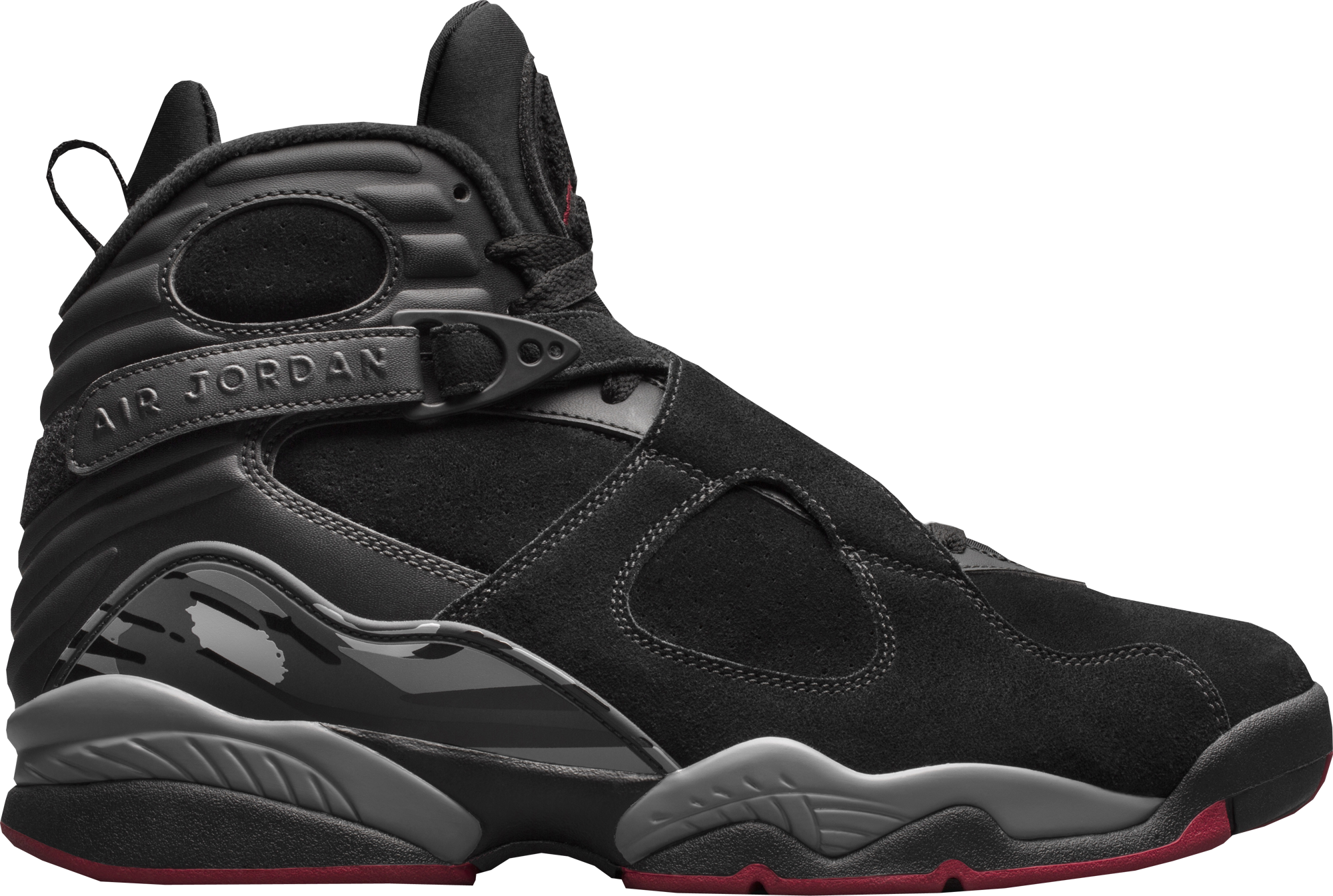 innovative design 520b6 de73e Air Jordan 8 Retro Black Cement