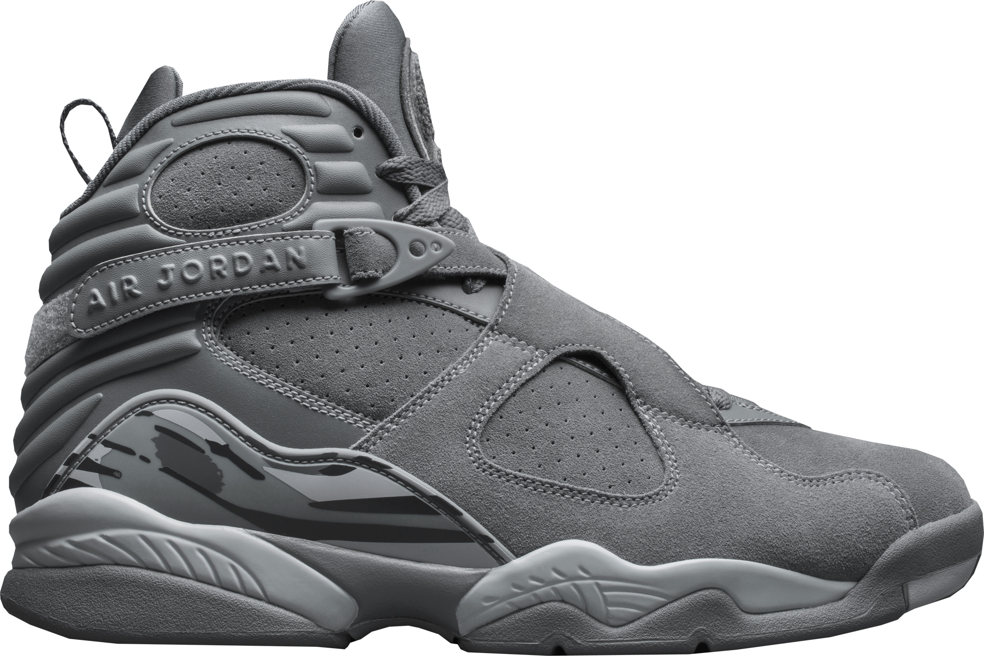 332a3c3f32a81c Air Jordan 8 Retro Cool Grey Wolf Grey 2017