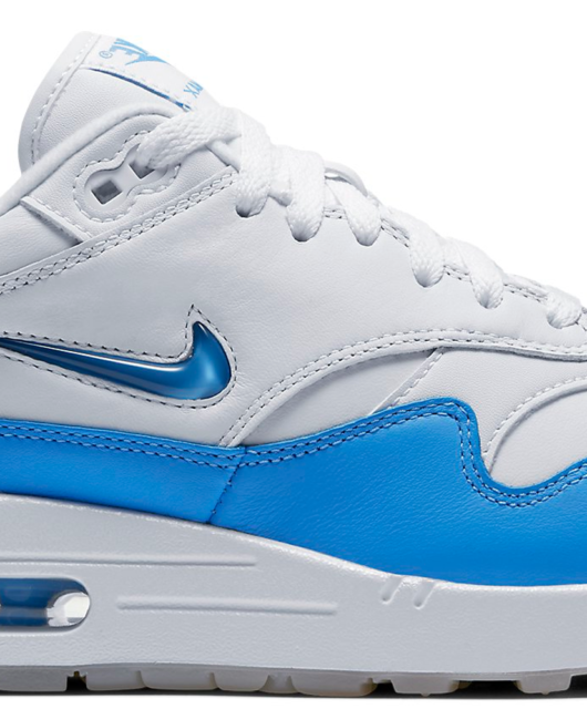 Nike Air Max 1 SC Jewel White University Blue 2017 Retro