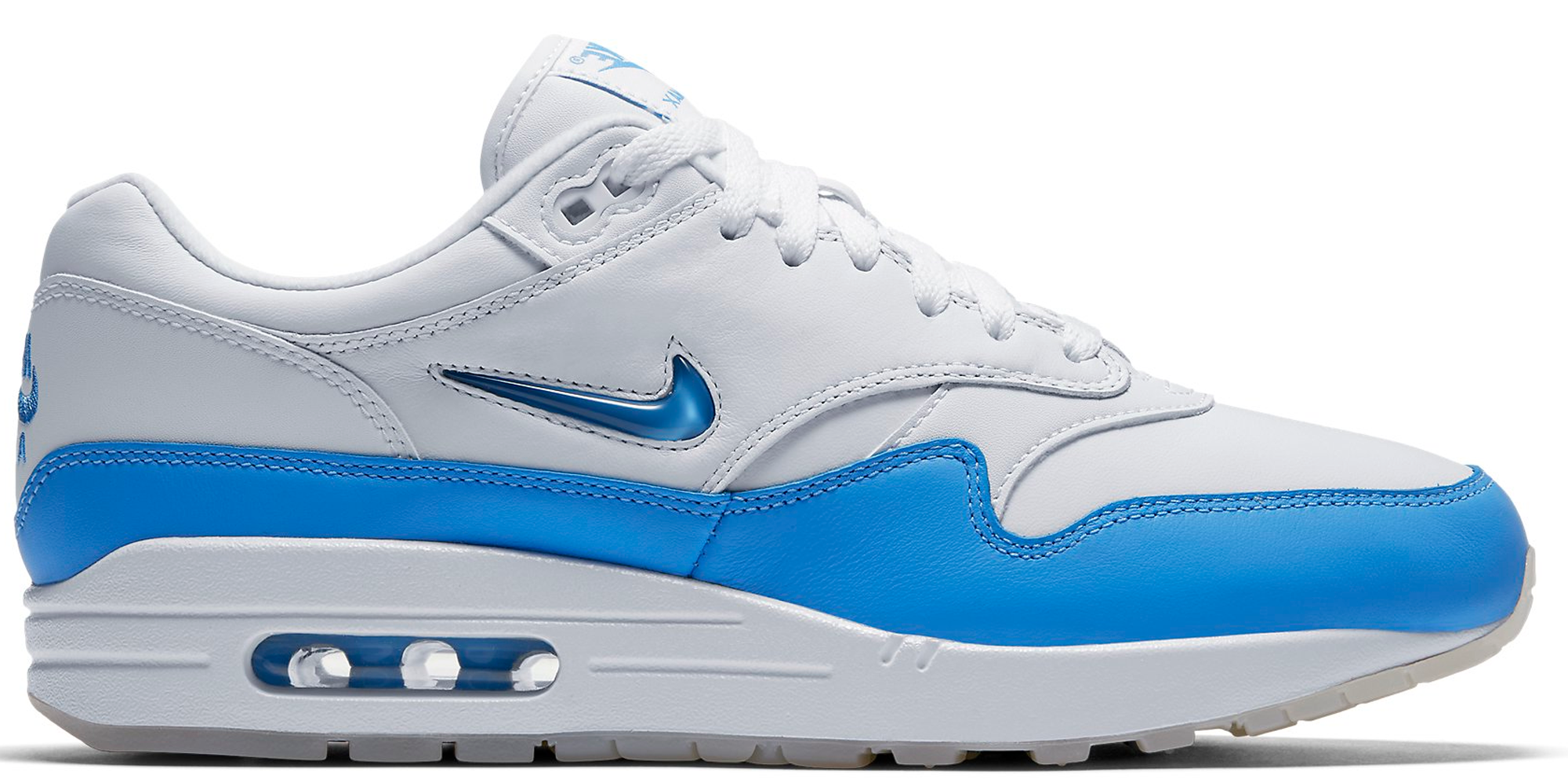 nike air max 1 jewel university blue. Black Bedroom Furniture Sets. Home Design Ideas