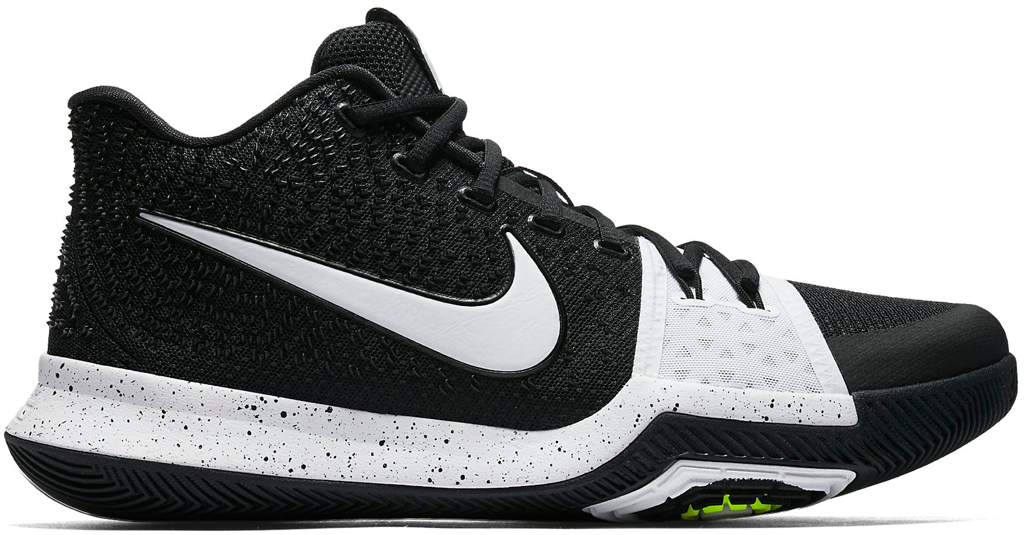 new product f2d32 0ca75 Nike Kyrie 3 TB Black White - StockX News
