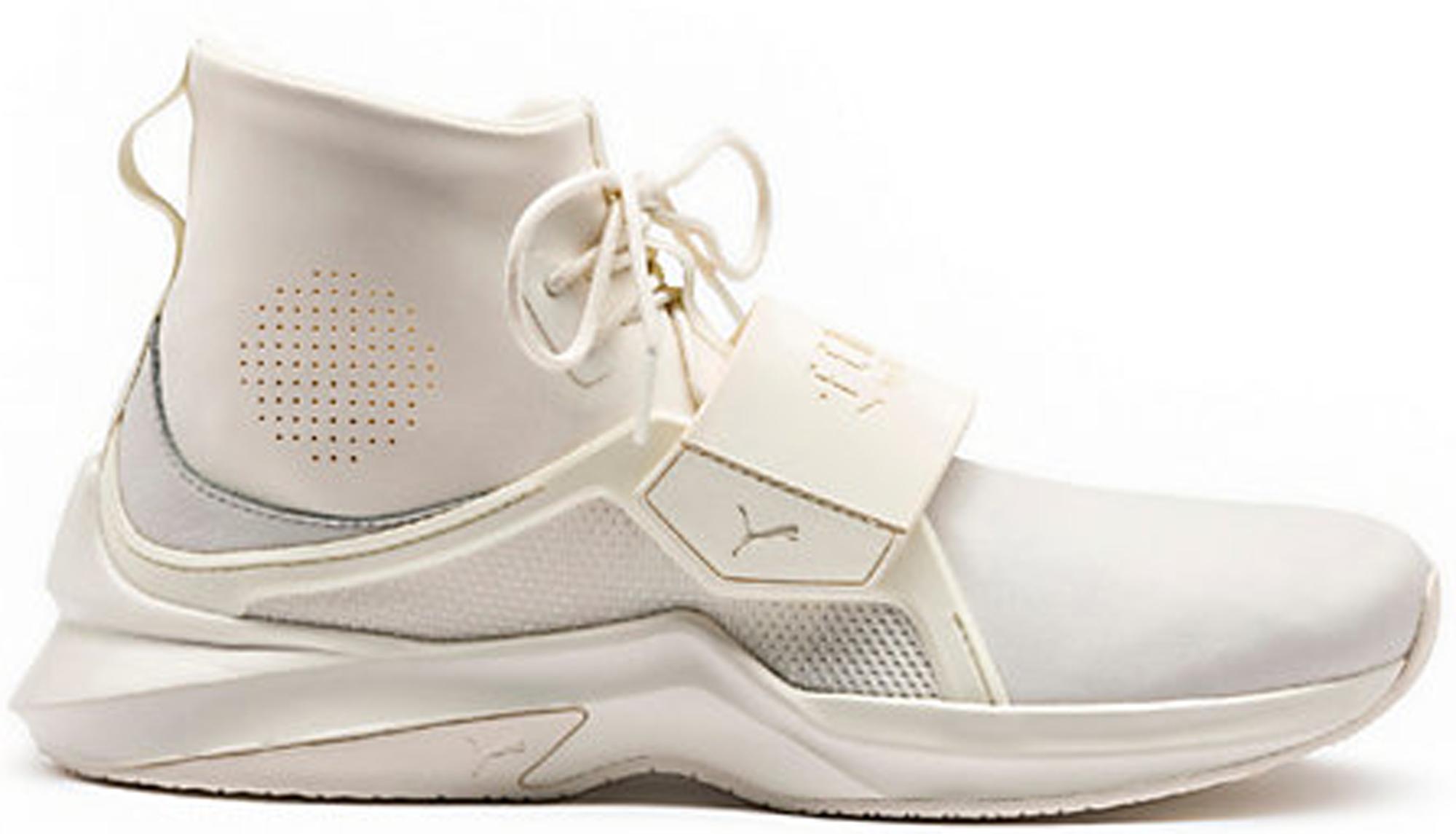 f7c1cbe1a43a Rihanna x Puma Fenty Leather Hi White (W) - StockX News
