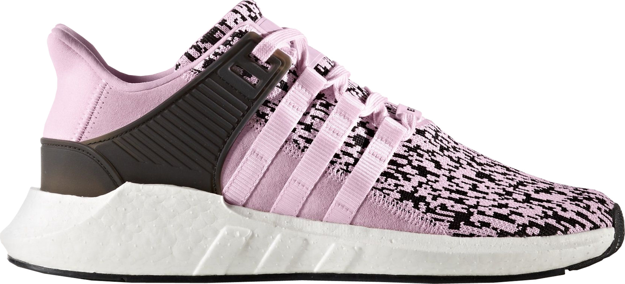 best loved ed29c ea8fe adidas EQT Support 9317 Glitch Camo Pink Black Womens