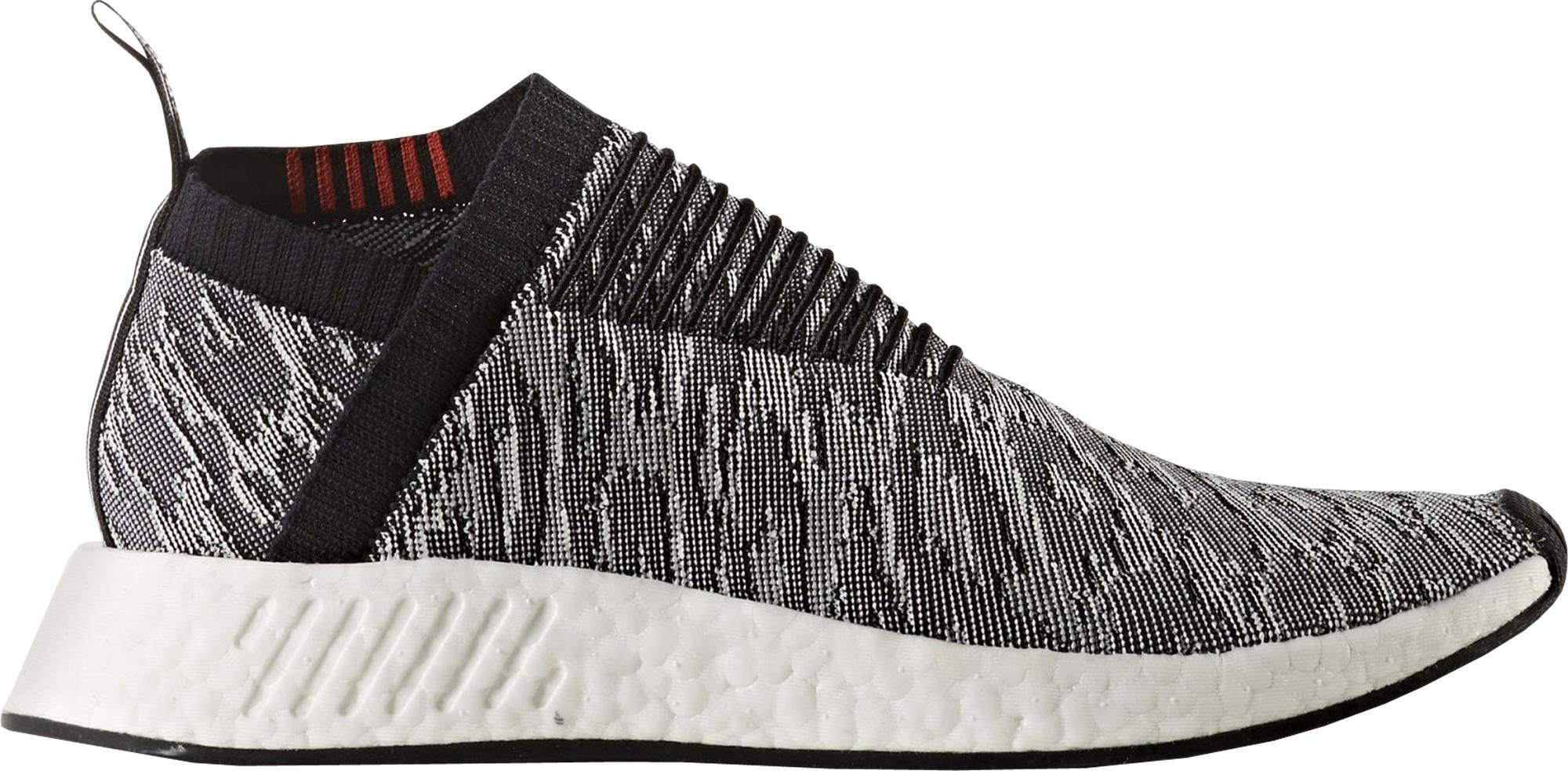 Adidas Nmd Cs2 Glitch Black Red White Stockx News