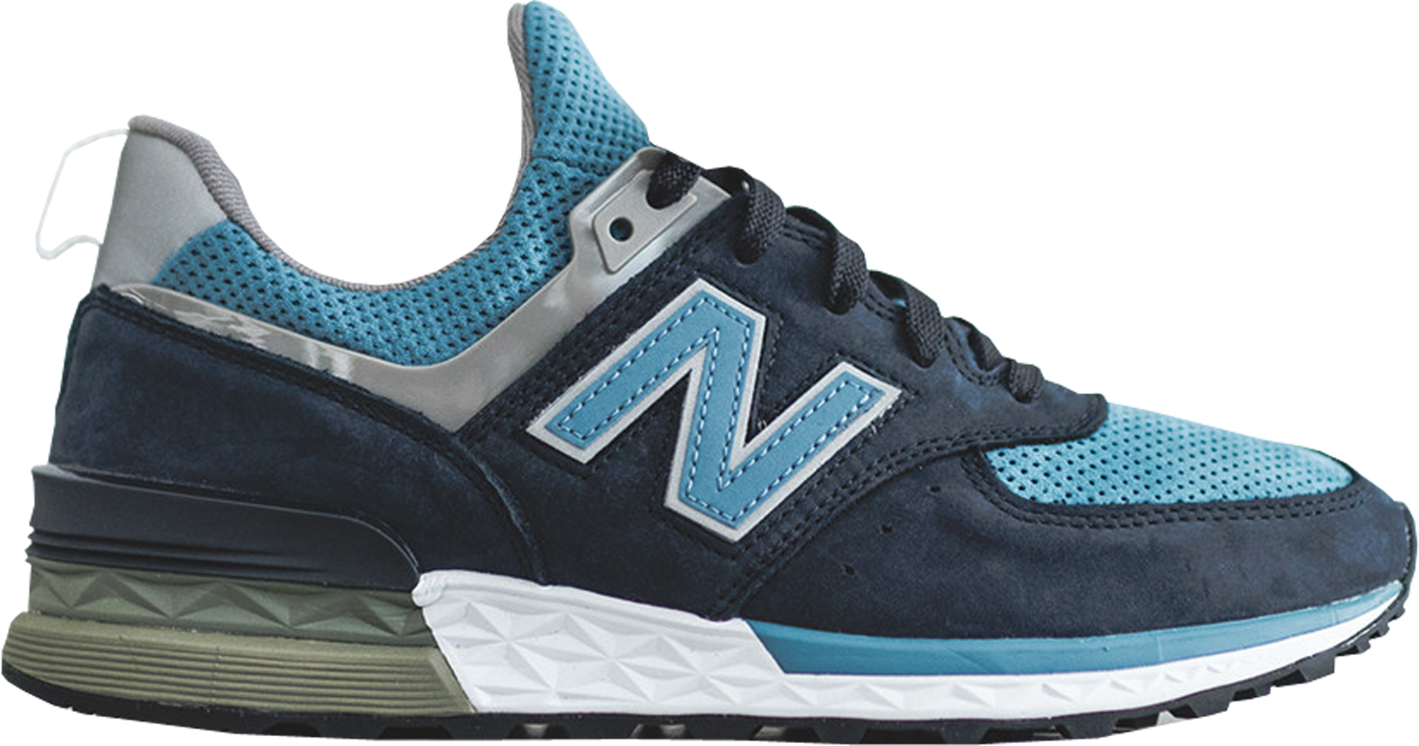new balance 574 sport navy blue