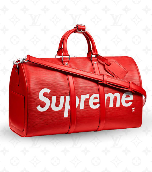 Supreme x Louis Vuitton Keepall Duffle Bag Giveaway