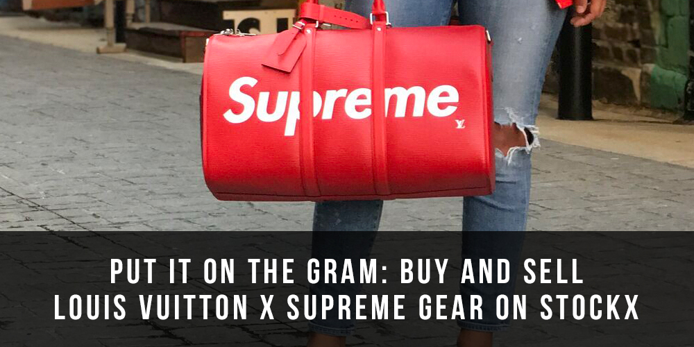 bc6334b957d2 Buy the Louis Vuitton x Supreme Collaboration at StockX - StockX News