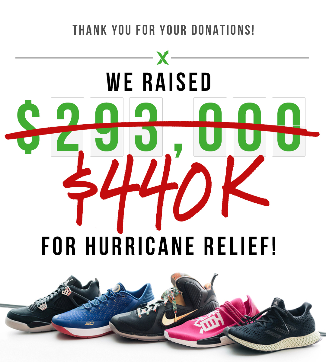 StockX Hurricane Relief