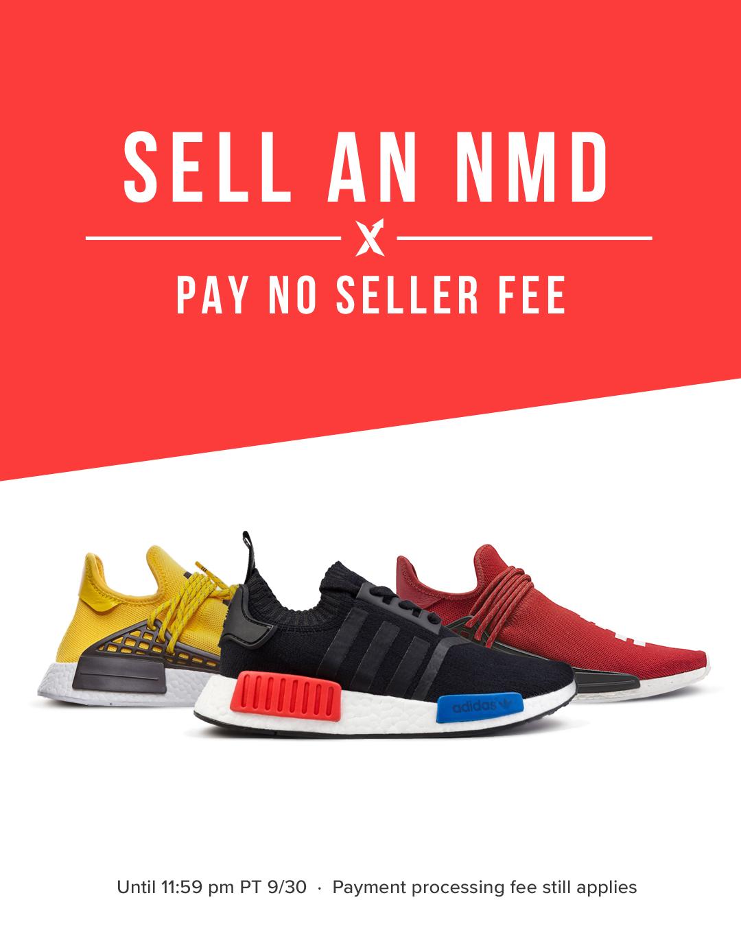 adidas NMD No Seller Fee