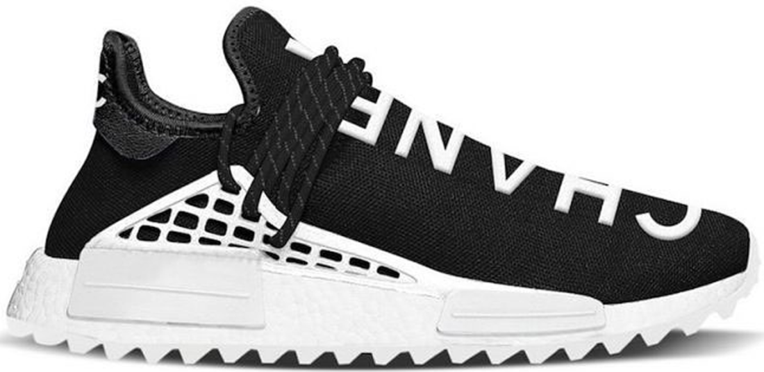 6acb672a55c5e Pharrell x Chanel x adidas Human Race NMD Black White - StockX News
