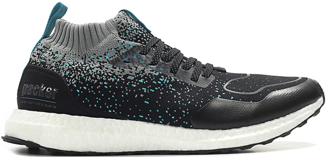 04cfc8e28672e Packer Shoes x Solebox x adidas Ultra Boost Mid Silfra Rift - StockX ...