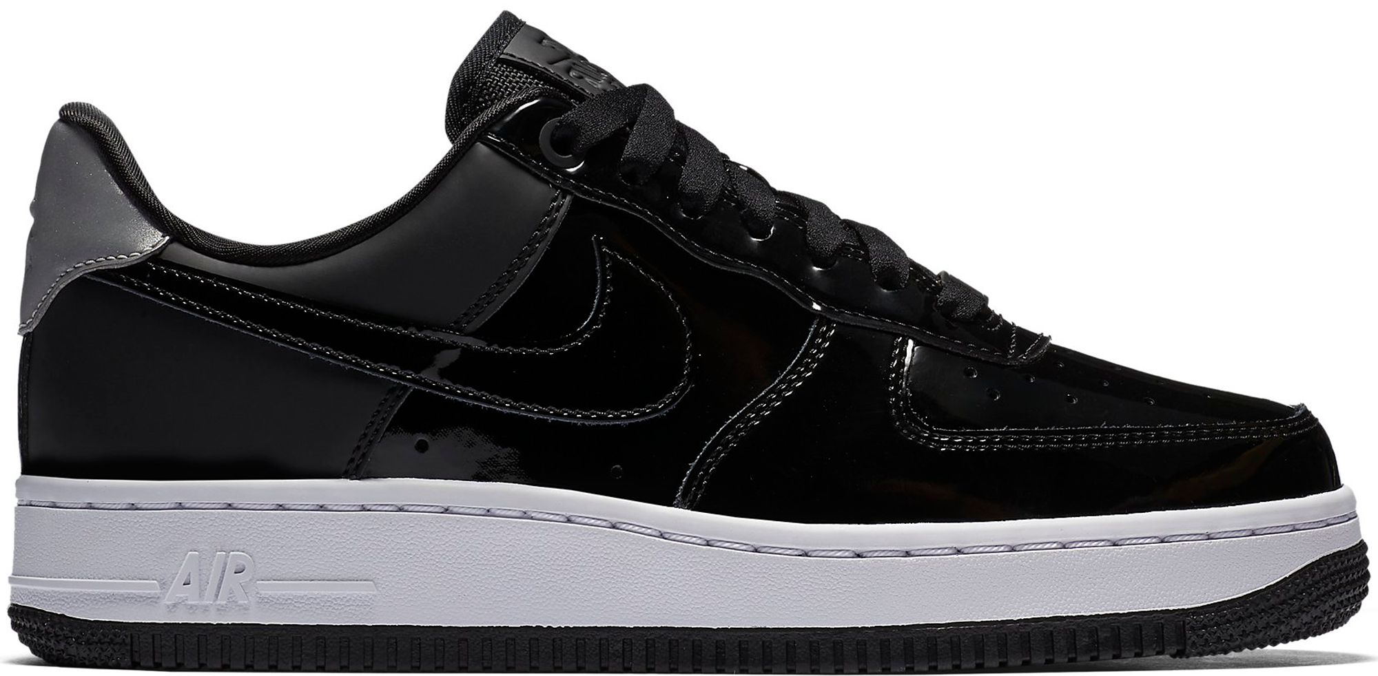 BRADSTYLE NIKE AIR FORCE 1 LOW BLACK PATENT LEATHER REVIEW + ON FEET