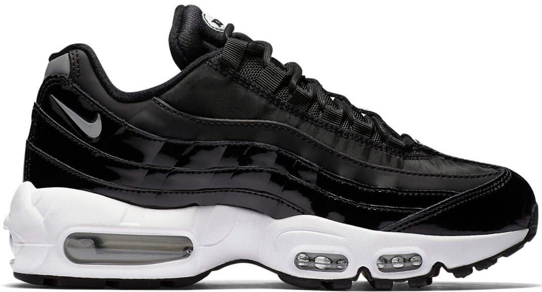 Women s Nike Air Max 95 Black Patent - StockX News d1d4afe761