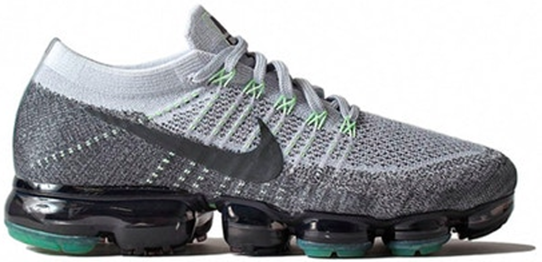 132fcc5a5bb5 Womens Nike Air VaporMax Flyknit Heritage Grape Emerald Nike Air VaporMax  Grey Neon ...