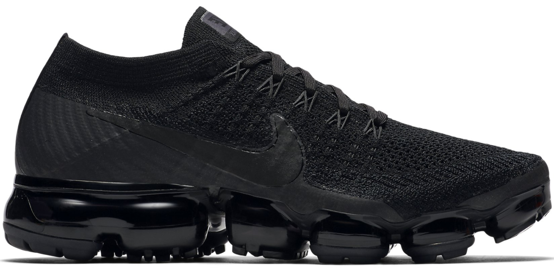 Women s Nike Air VaporMax Flyknit Triple Noir - StockX News ad5ad9d46
