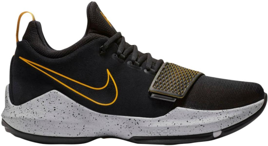 Nike PG 1 Black University Gold - StockX News a4b75cda3