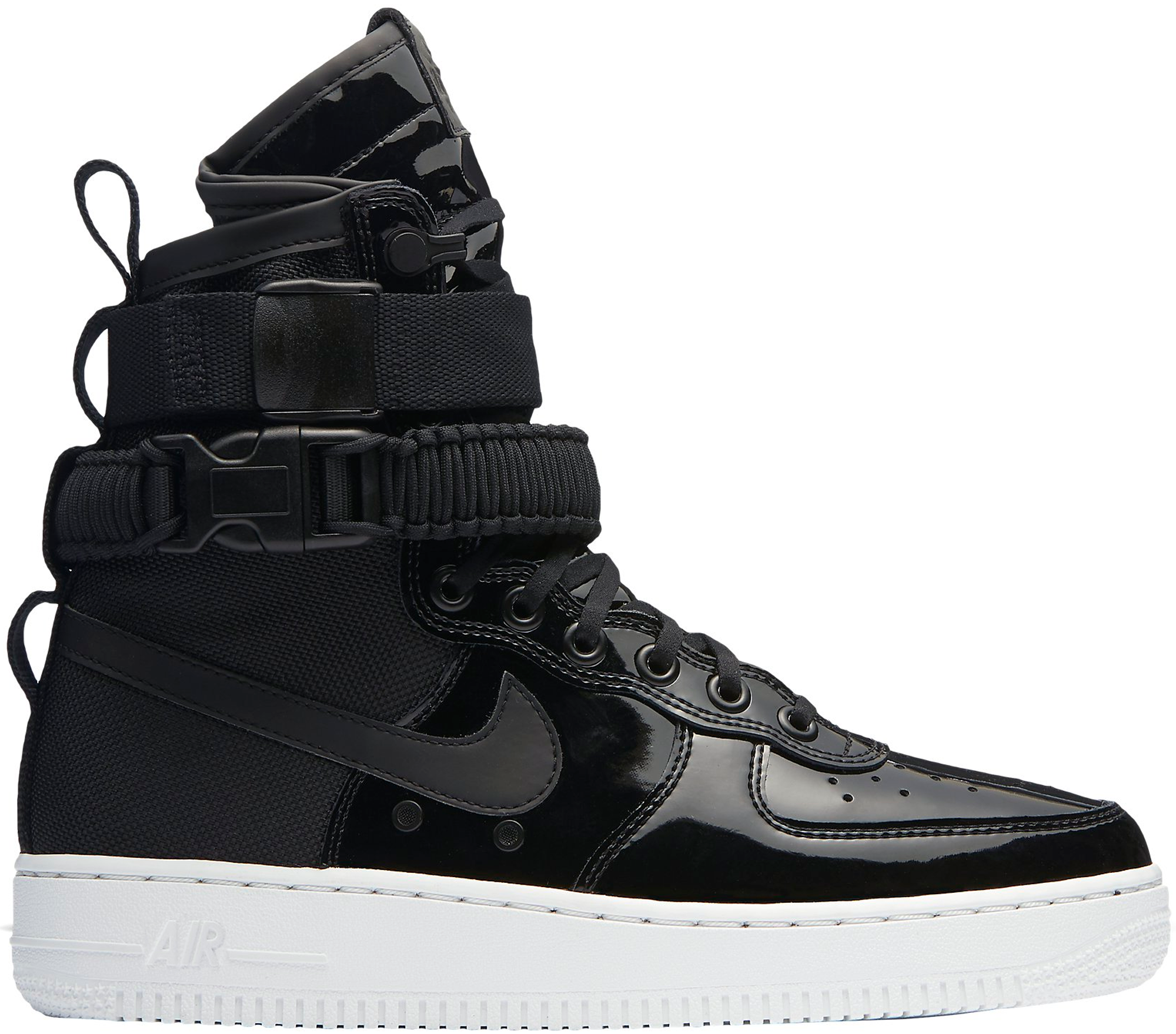 grey black womens nike air force 1 high shoes. Black Bedroom Furniture Sets. Home Design Ideas