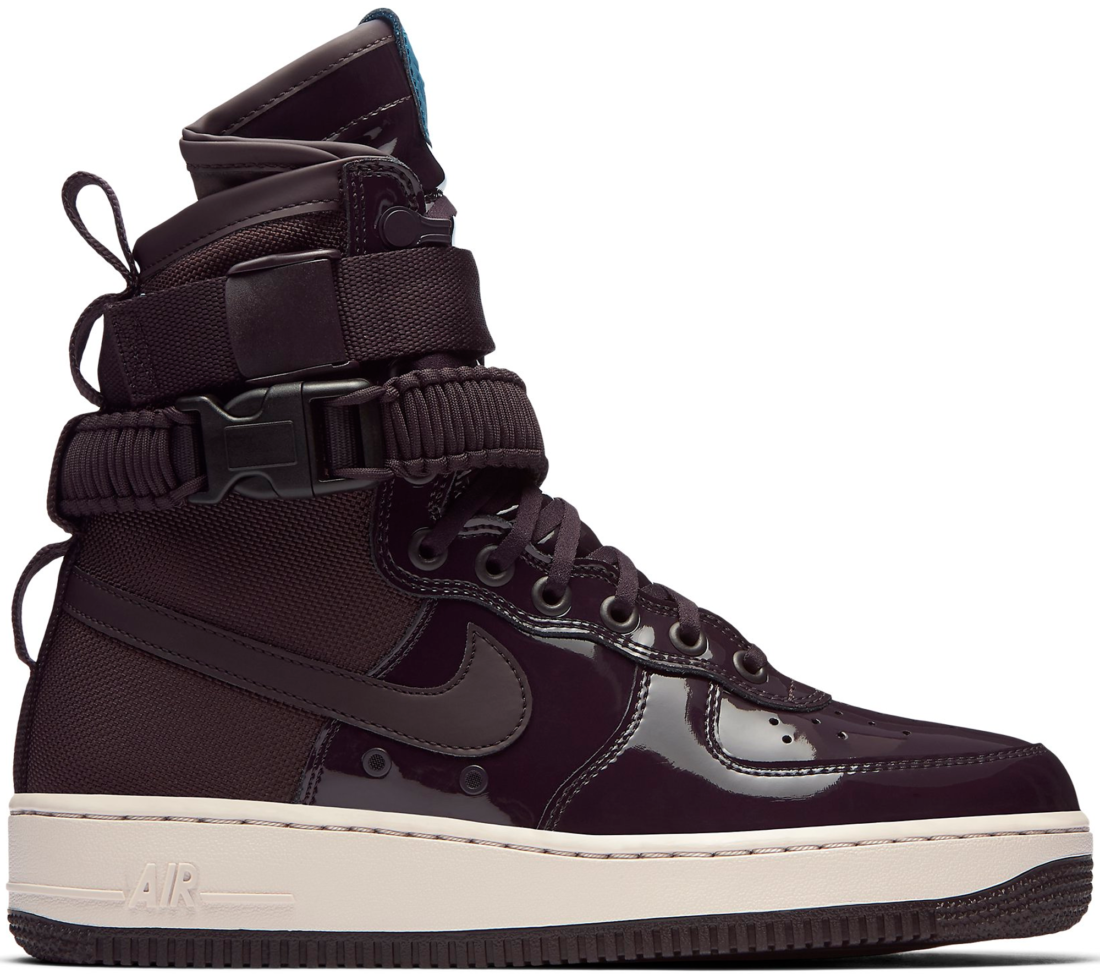 fe1e4705a Ruby Rose x Women's Nike SF Air Force 1 High Port Wine - StockX News