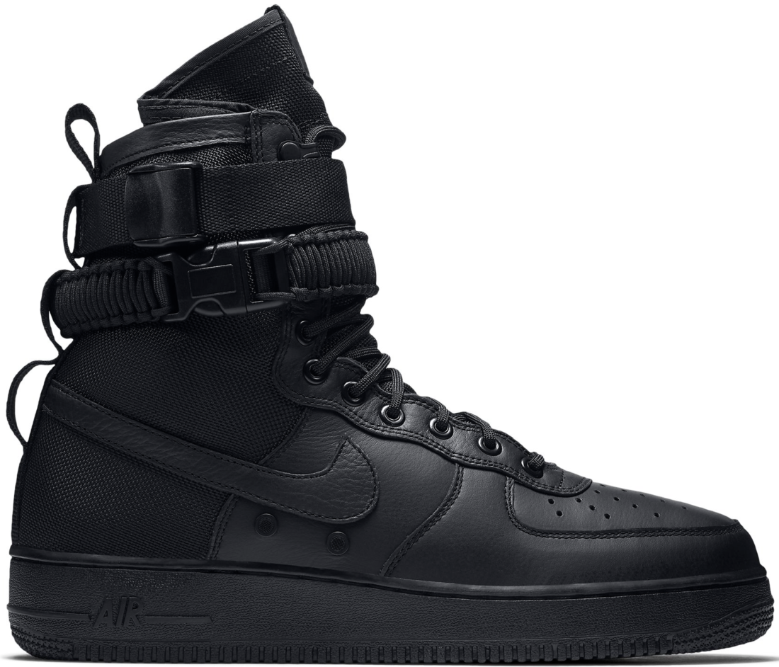 competitive price d0bb2 0338a Nike SF Air Force 1 High Triple Black - StockX News
