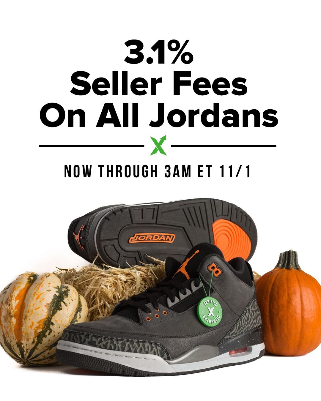 Happy Halloween! — 3.1% Seller Fee Starts Now!