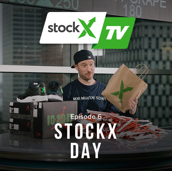 StockX TV Ep. 6 – Supreme Data, StockX Day & Exclusive Jordans