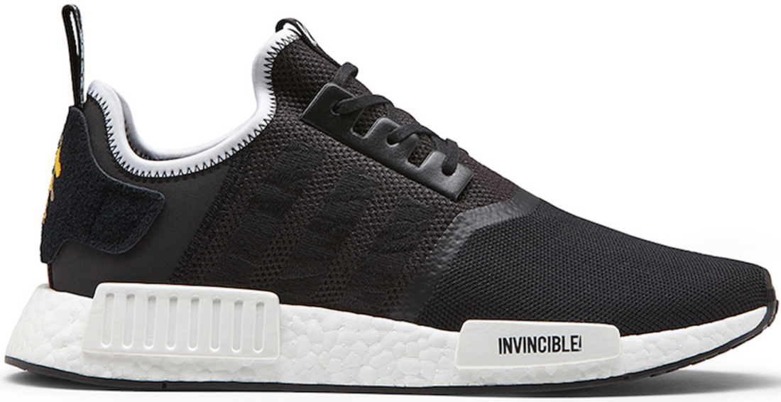 reputable site c00bc a93b6 Neighborhood x Invincible x adidas NMD R1 Black - StockX News
