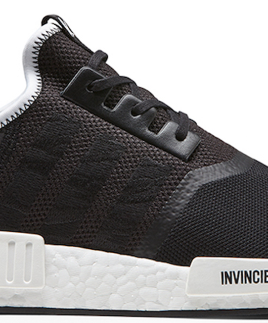 Neighborhood x Invincible x adidas NMD R1 Black